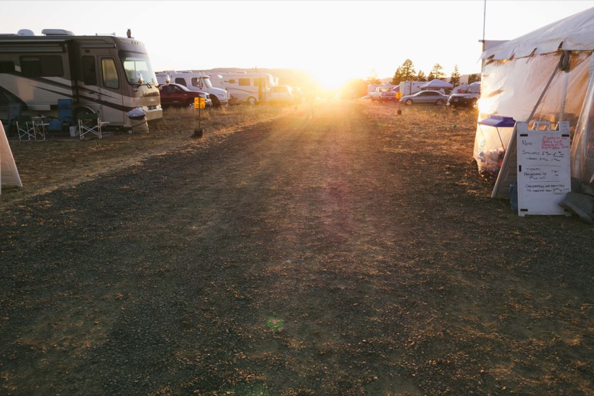 The sun setting on the Oregon Star Party in the Ochoco National Forest.