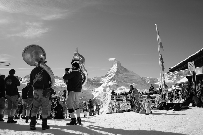 matterhorn with marching band